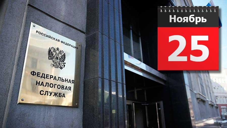25 ноября истекает очередной срок уплаты НДС, акцизов и НДПИ